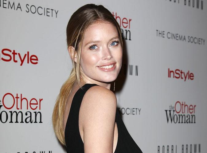 """Mode : Doutzen Kroes : pour sa fille, elle espère """"mieux"""" qu'une carrière de top model !"""