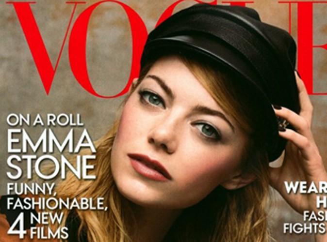 Mode : Emma Stone : une cover girl fashion et captivante pour sa seconde couverture du Vogue US !
