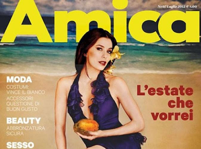 Mode : Eva Longoria (trop ?) retouchée pour la couv du mag Amica !