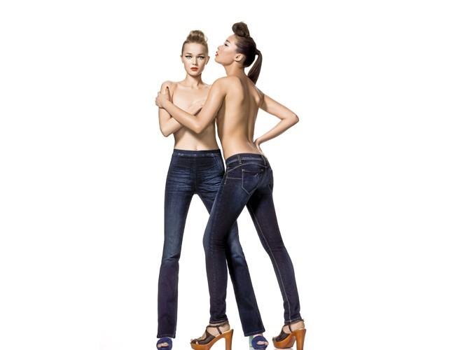 Mode : focus sur le jean pin'up !