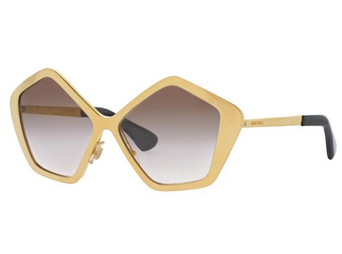 Mode : focus sur les lunettes Miu Miu... Ah ! Si j'étais riche !