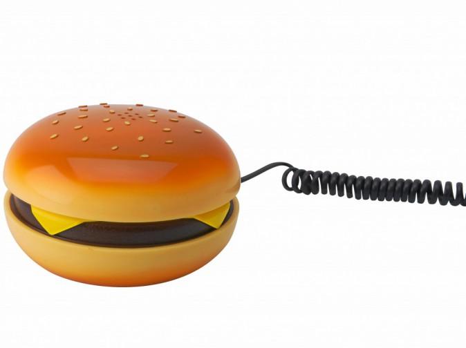 Téléphone burger, Present Time minimall.com 19,50€