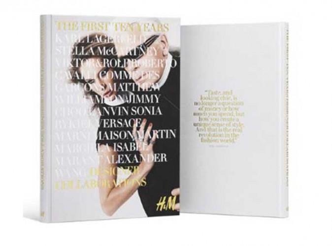 """Mode : H&M : """"THE FIRST TEN YEARS"""" : le livre retraçant toutes les fameuses collaborations du géant suédois !"""