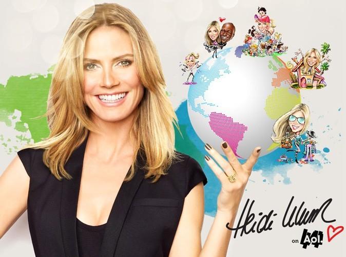 Mode : Heidi Klum nous donne des conseils look sur son nouveau site !