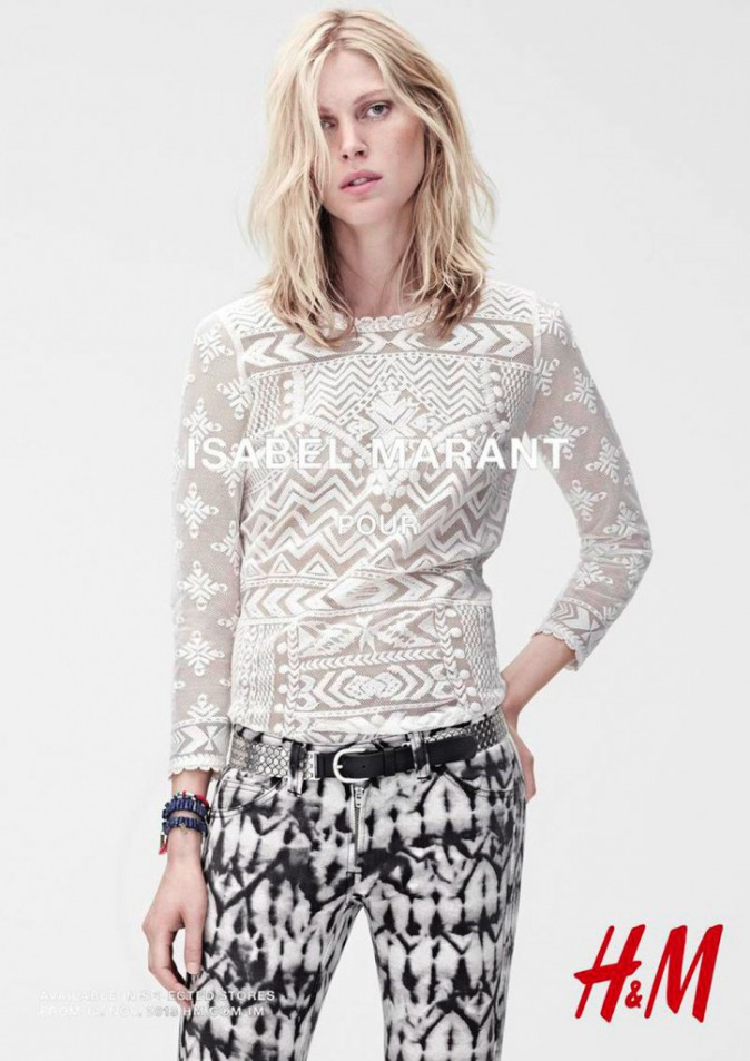 Iselin Steiro pour Isabel Marant x H&M