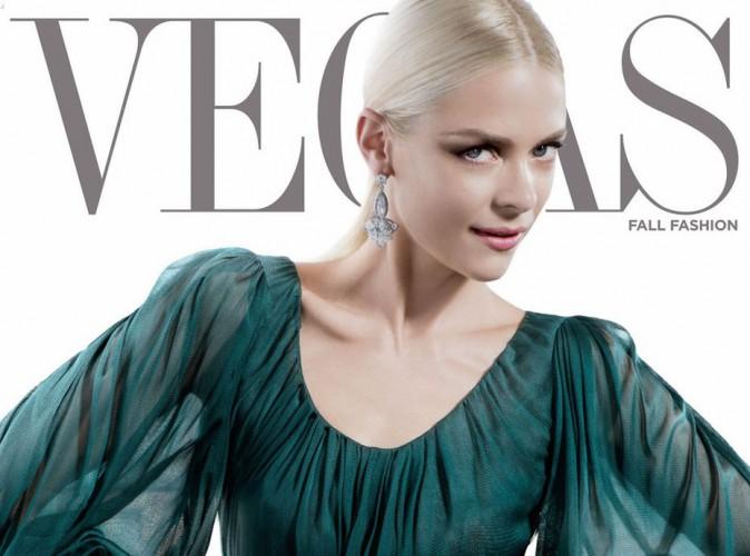 Mode : Jaime King : une covergirl sensuelle qui se livre pour Vegas …