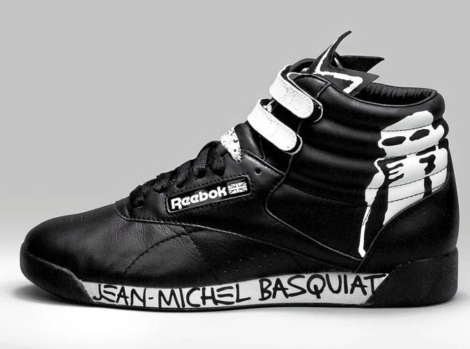 Mode : Jean-Michel Basquia revisite la basket Reebok !
