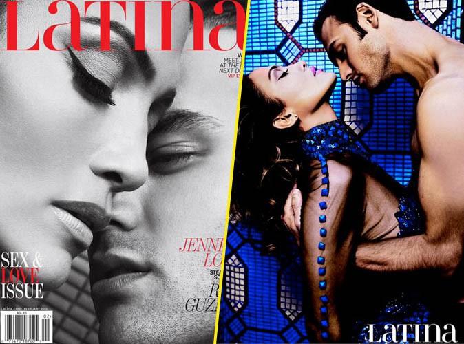 Mode : Jennifer Lopez, Ryan Guzman : complices et sensuels pour la couverture du magazine Latina !