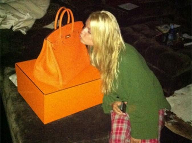 Mode : Jessica Simpson reçoit un Birkin d'Hermès pour son anniversaire !