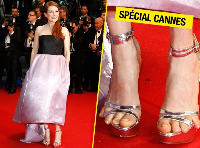Mode : Julianne Moore prend à la rigolade son fashion-faux pas à Cannes !