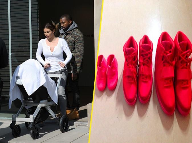 Mode : Kanye West : c'est Nike Air Yeezy II pour toute la famille !