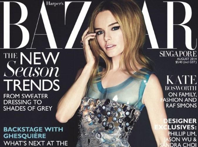 Mode : Kate Bosworth propulsée dans les années 60 pour sa couv du Harper's Bazaar elle dévoile une surprise...