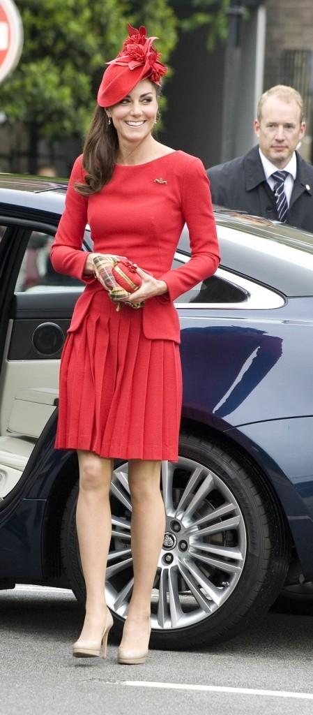 Elle est pas belle la duchesse de Cambridge ?