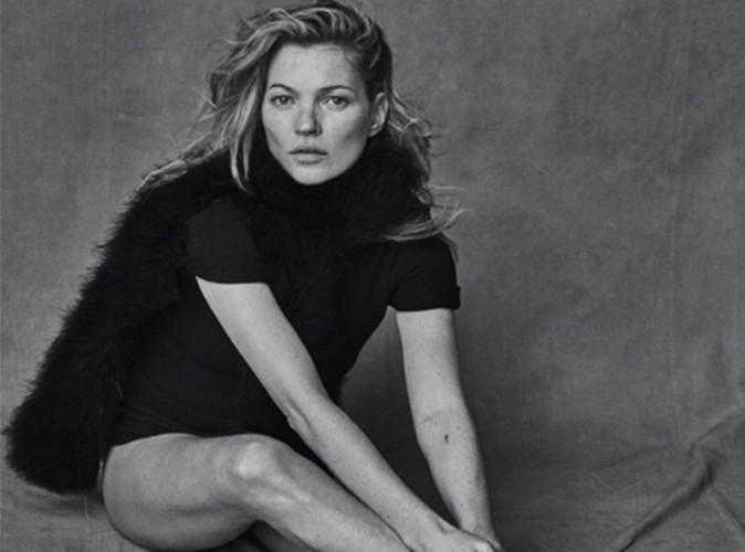 Mode : Kate Moss : découvrez ses photos non retouchées pour Vogue !