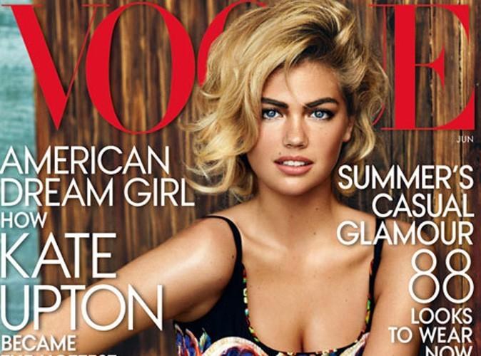 Mode : Kate Upton fait la couverture du Vogue US !