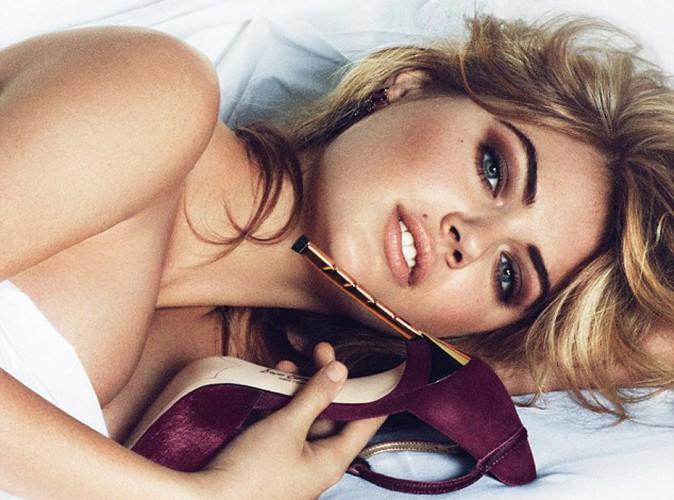 Mode : Kate Upton habillée d'un coussin pour Sam Edelman…