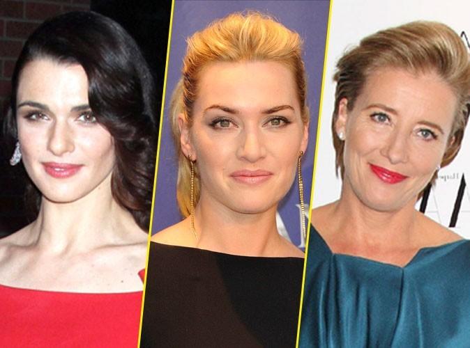 """Mode : Kate Winslet et Rachel Weisz créent la """"Ligue Britannique Anti-Chirurgie Esthétique"""" !"""
