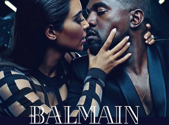 Mode : Kim Kardashian et Kanye West : nouveaux ambassadeurs Balmain !