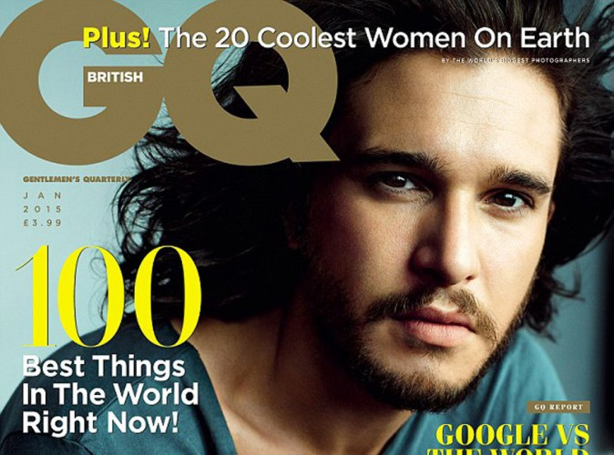 Mode : Kit Harington : l'acteur de Game of Thrones, HOT en couverture de GQ Magazine !