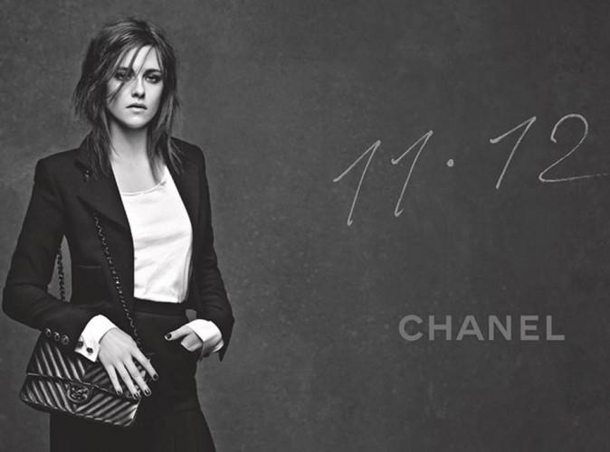 Mode : Kristen Stewart : sombre et chic pour la nouvelle campagne Chanel !