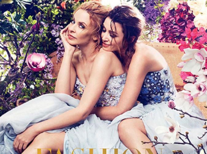 Mode : Kylie et Dannii Minogue : réunies pour la couverture du magazine Harper's Bazaar !
