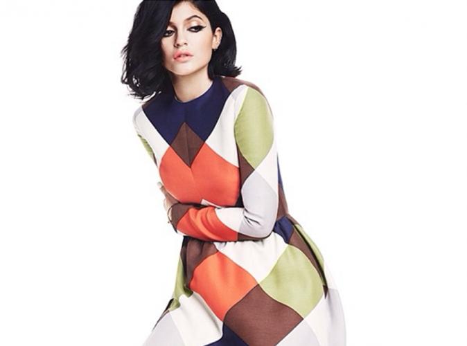 Mode : Kylie Jenner : une beauté rétro pour le magazine Byrdie !