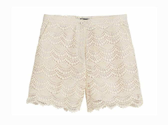 Short en crochet, La Halle, 29,99€