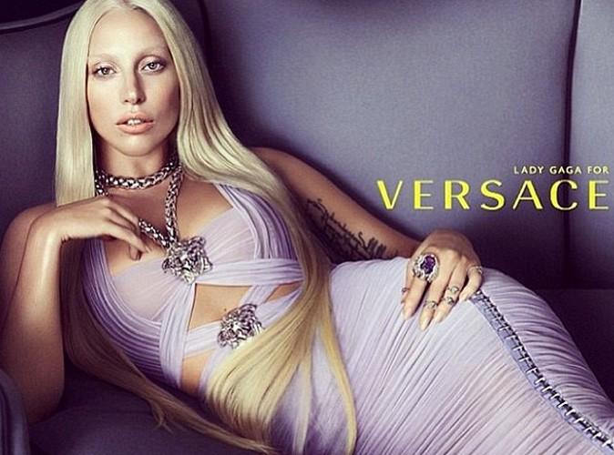 Mode : Lady Gaga est la nouvelle égérie Versace !