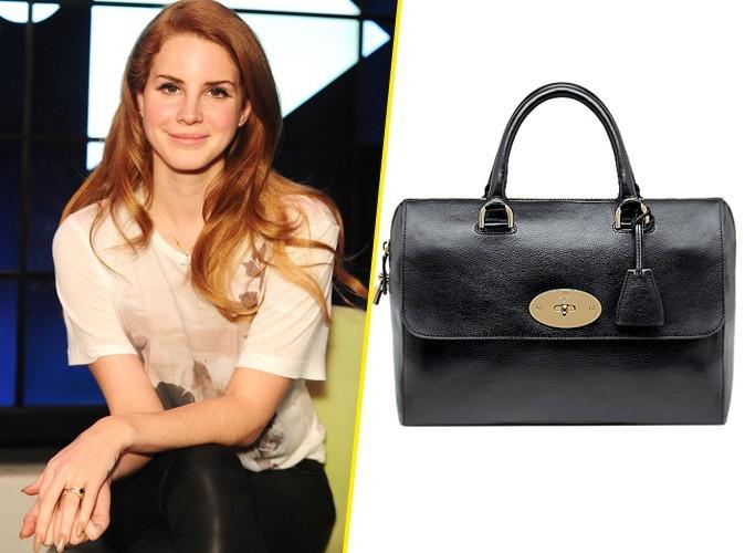 Mode : Lana Del Rey fait un tabac chez Mulberry !