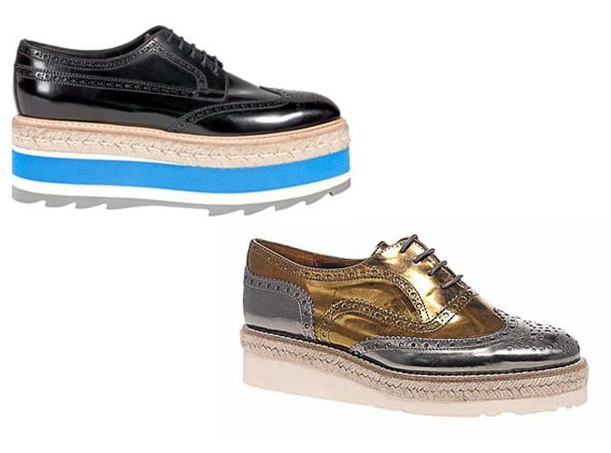 mode les chaussures creepers de prada en moins cher. Black Bedroom Furniture Sets. Home Design Ideas