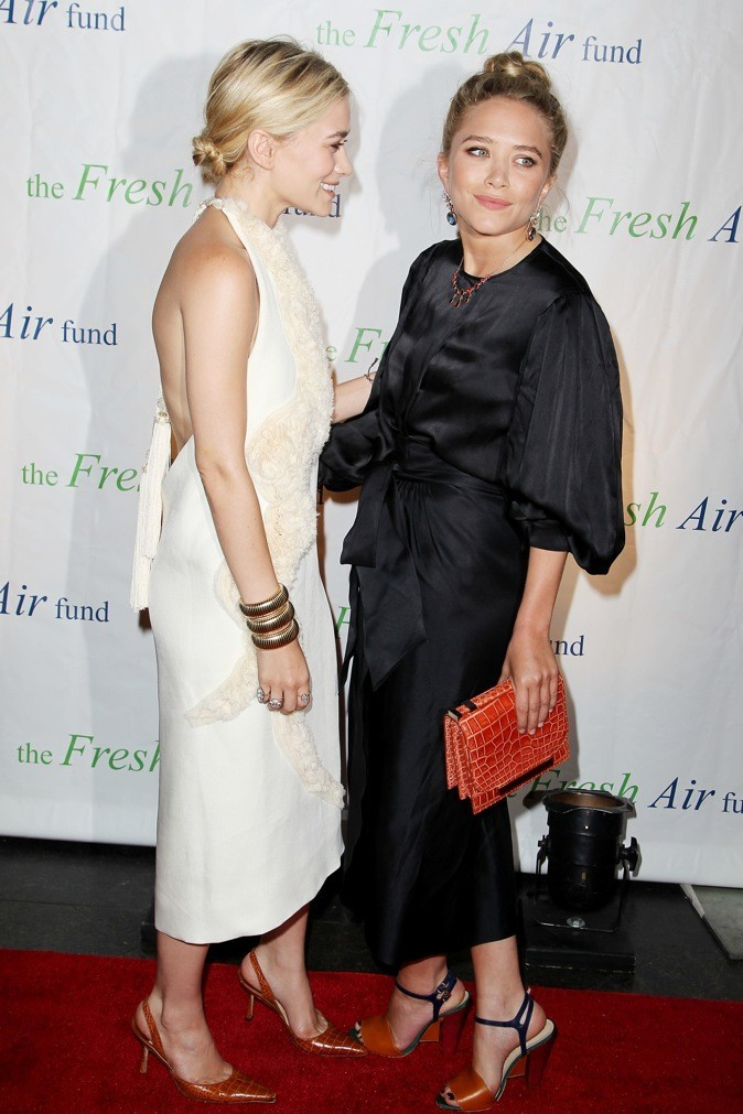 Ashley et Mary Kate Olsen