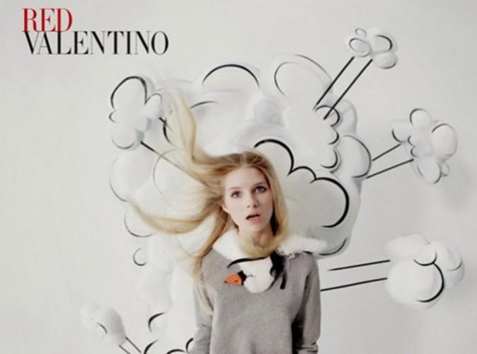 Mode : Lottie Moss : elle suit les traces de sa soeur pour Red Valentino !!
