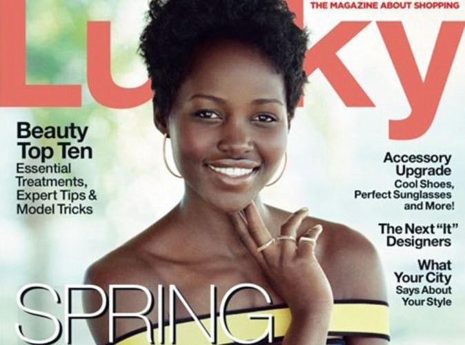 Mode : Lupita Nyong'o illumine la couverture de Lucky Magazine !