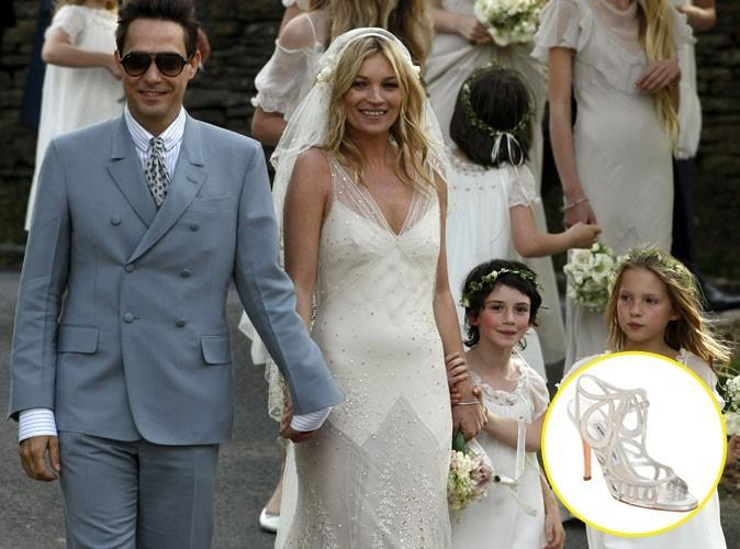 Mode : Manolo Blahnik a du refaire 5 fois les chaussures de mariée de Kate Moss !