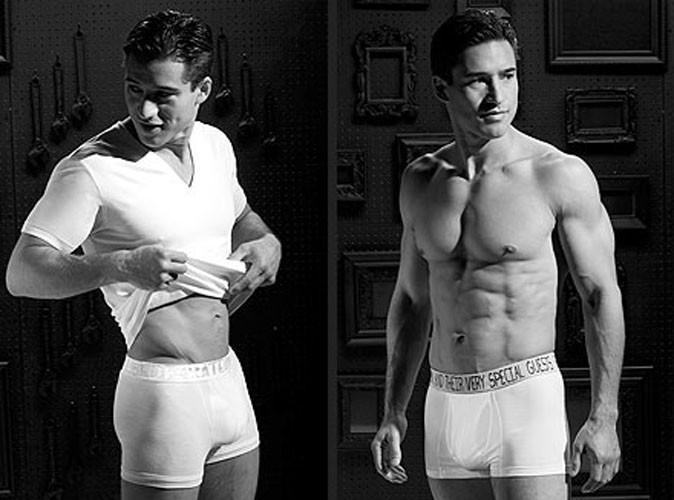 Mode :  Mario Lopez sexy en petite tenue !