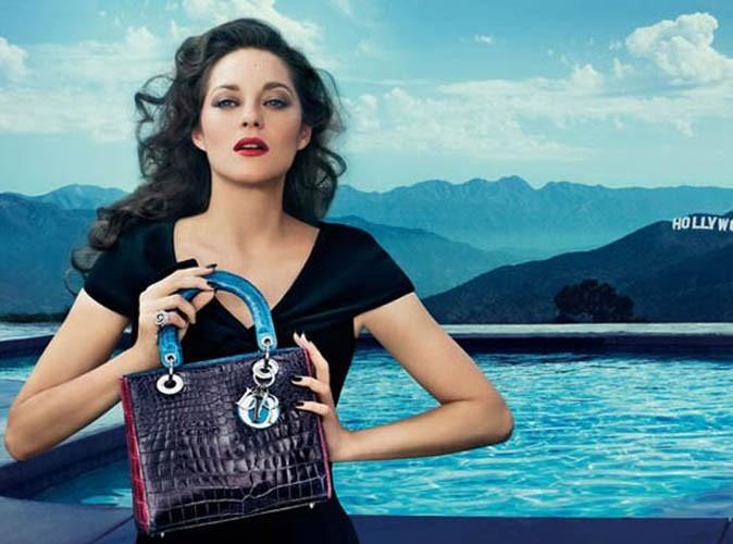 Mode : Marion Cotillard transportée à Hollywood pour Dior !