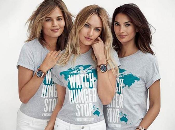 Mode : Michael Kors, Lily Aldridge, Candice Swanepoel et Chrissy Teigen : tous unis contre la faim dans le monde !