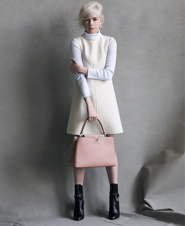 Michelle Williams pour la campagne Louis Vuitton automne-hiver 2014/2015 !