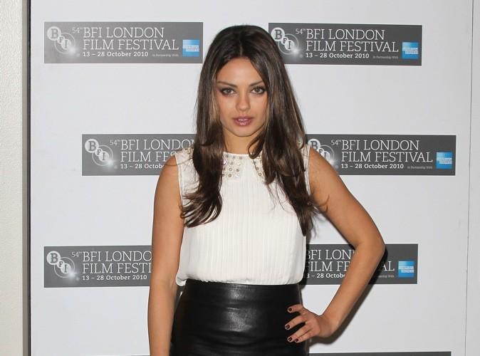 Mode : Mila Kunis, une fille comme toutes les autres !