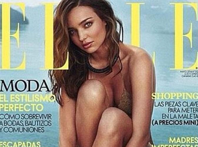 Mode : Miranda Kerr : se transforme en naïade pour ELLE !