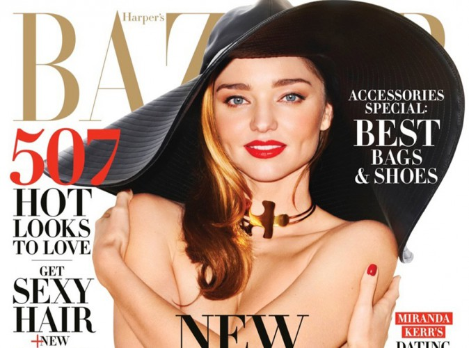 Mode : Miranda Kerr : topless pour Harper's Bazaar, elle se confie !