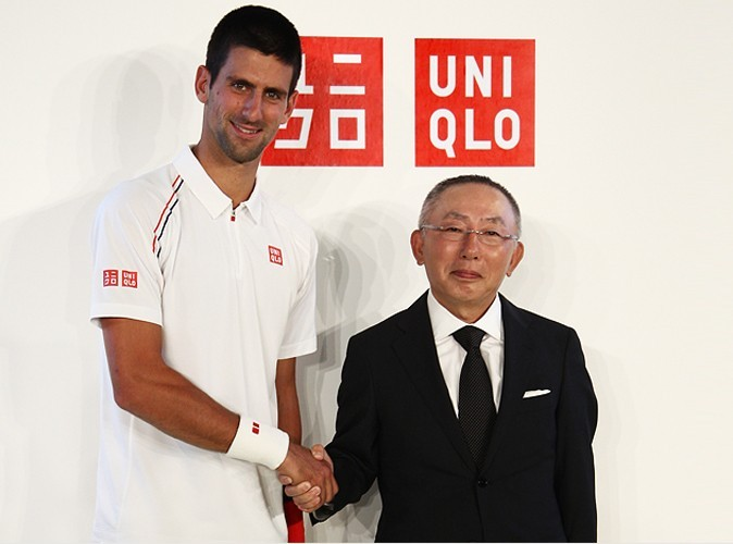 Mode : Novak Djokovic, un champion égérie d'Uniqlo !