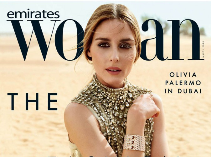 Mode : Olivia Palermo : Covergirl orientale pour Emirates Woman !