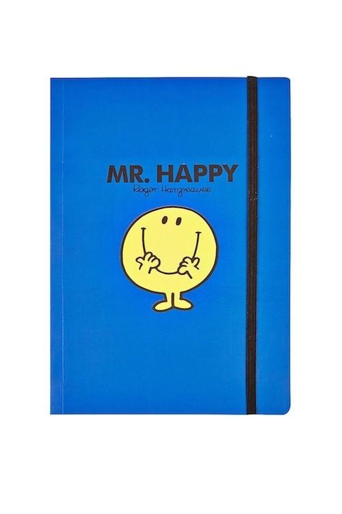 Bloc-notes Mr. Happy, Topshop 7€