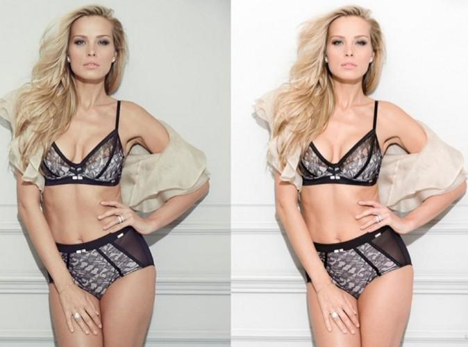 Mode : Petra Nemcova : elle pose fièrement (presque) sans retouches pour la lingerie Ultimo !