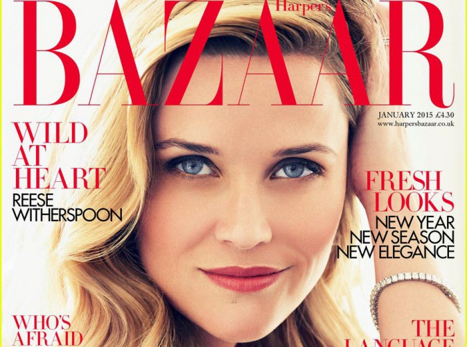 Mode : Reese Witherspoon : une cover girl glamour et sexy pour Harper's Bazaar Uk !