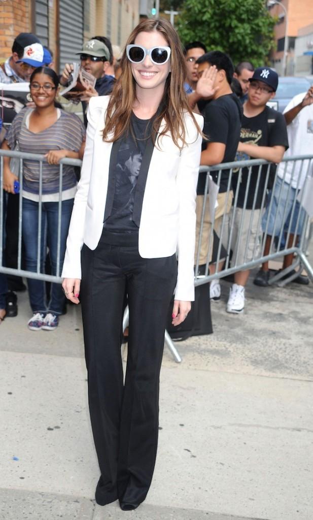 Anne Hathaway, la classe dans la peau !