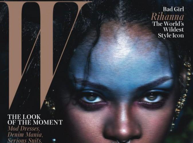 Mode : Rihanna : féline en Une de W magazine, elle rend hommage à Balmain avec Iman et Naomi Campbell…