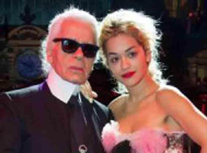 Mode : Rita Ora, la future rose que va cueillir Karl Lagerfeld ?