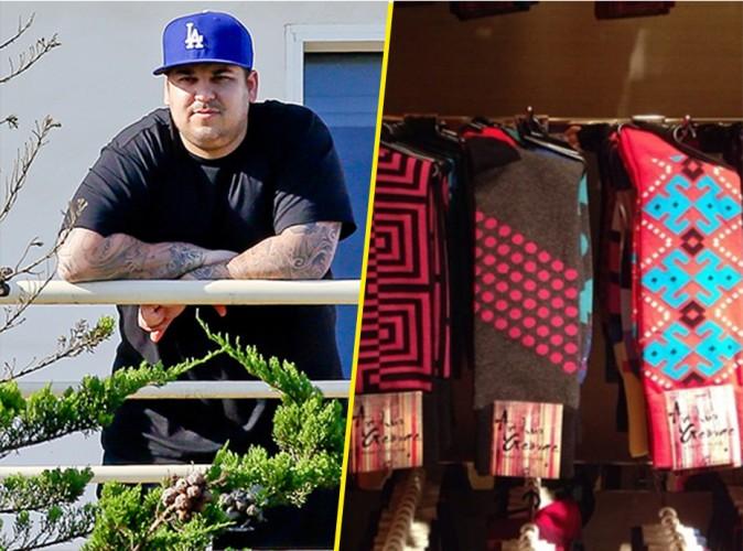 Mode : Rob Kardashian : sa maman présente la collection pré-automne de chaussettes du jeune homme !